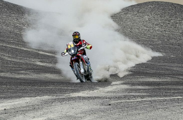 Dakar Rally Stage 5 Report Joan Barreda
