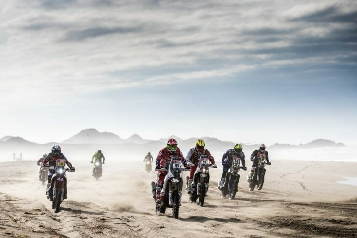Dakar Rally Stage 4 start