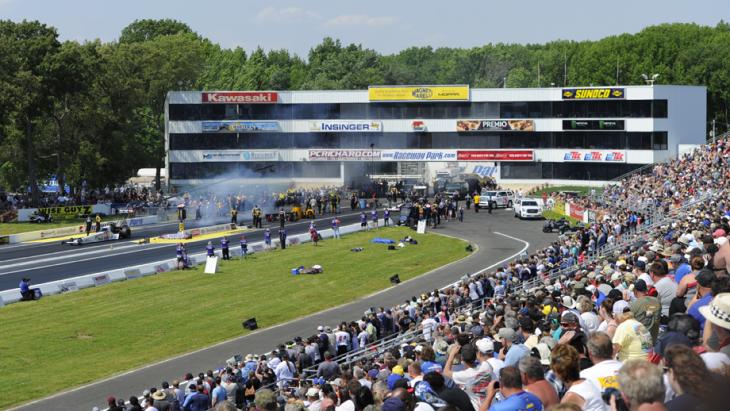 No More Drag Racing at Old Bridge Township Raceway Park - NHRA Summernationals in Englishtown Canceled
