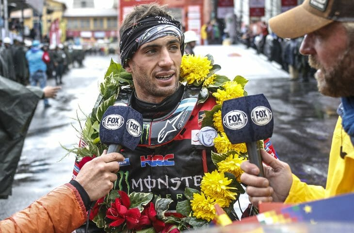 Dakar Rally stage 6 Kevin Benavides