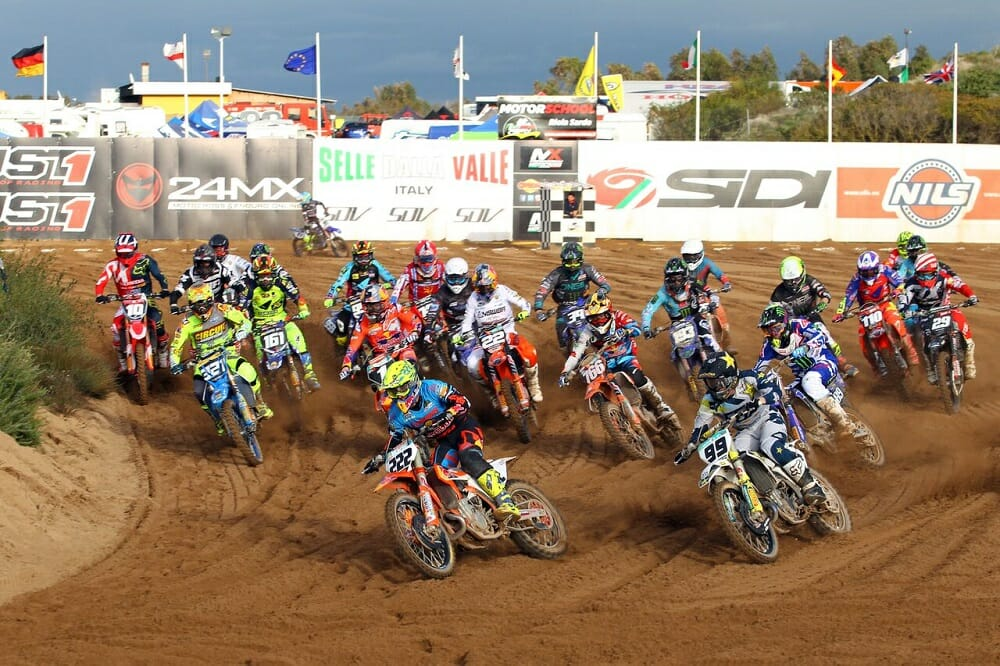 "Pirelli Sweeps the Opening Round of the ""International d' Italia Motocross"" Championship"
