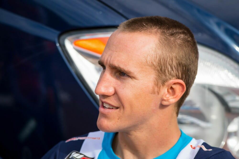 FMF KTM Factory Racing Team's Taylor Robert