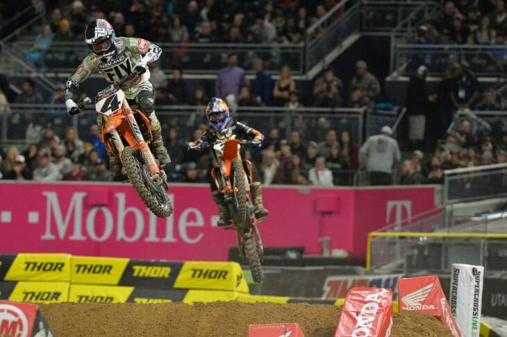 2018 San Diego 450cc Supercross Results