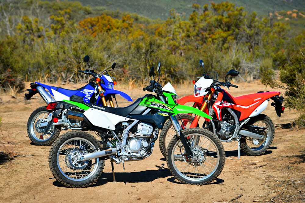 2018 250cc Dual Sport Shootout Cycle News