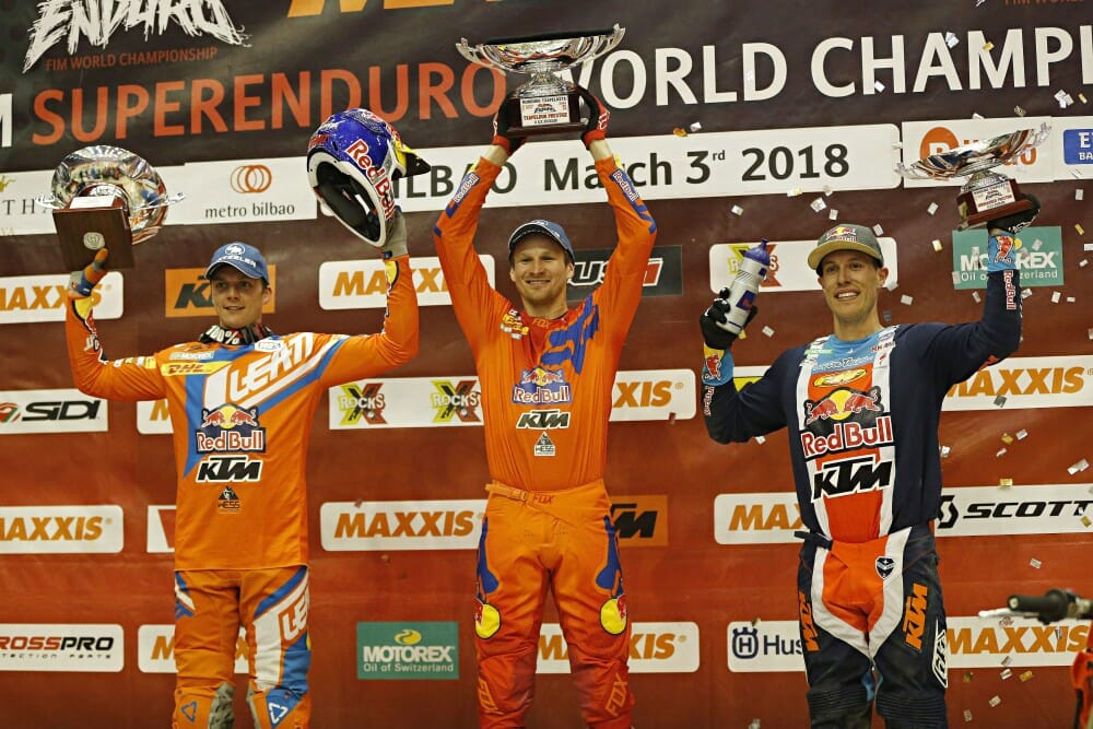 2018 GP Of Euskadi SuperEnduro Results