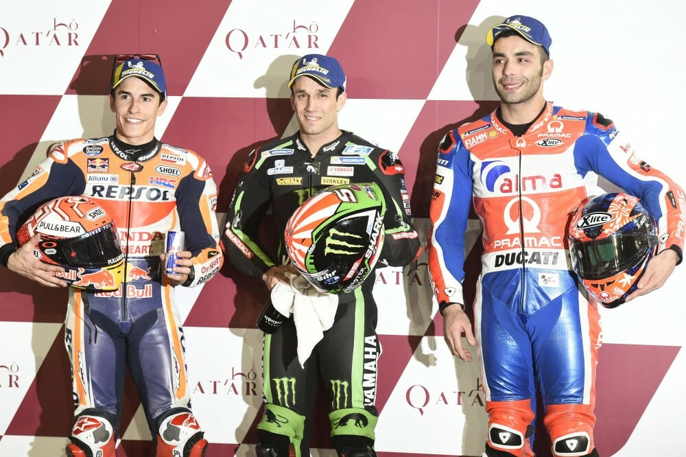 2018 Qatar Motogp Saturday Results Cycle News