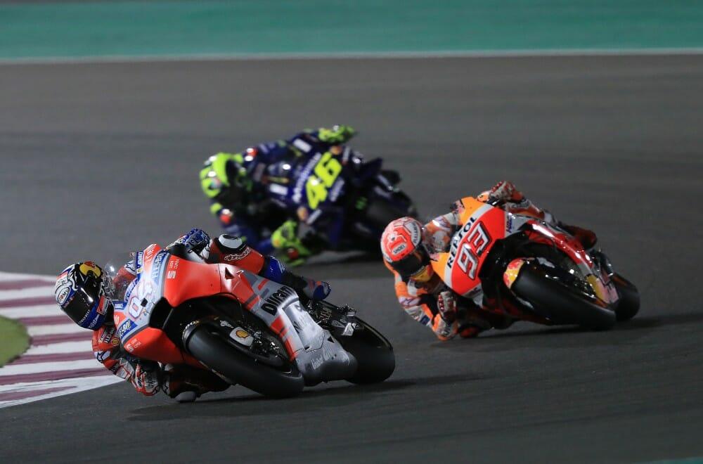 2018 Qatar MotoGP Sunday Results - Cycle News
