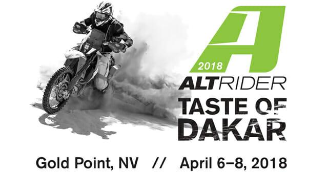 AltRider Taste of Dakar 2018