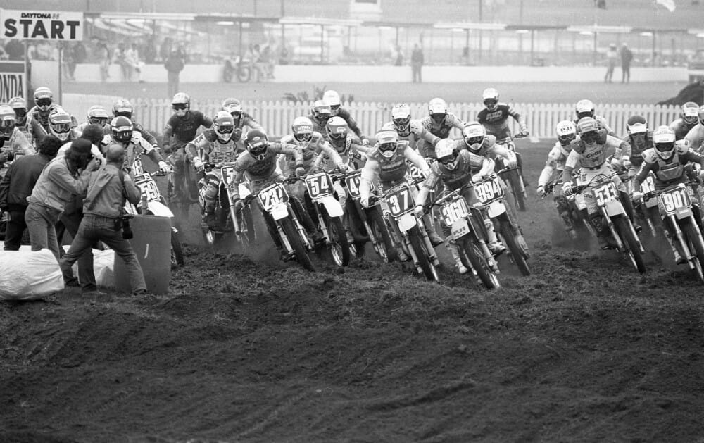 1988 Daytona 125cc East Supercross