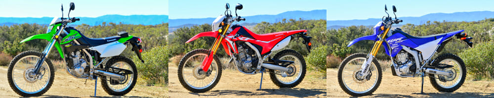 2018 250cc Dual-Sport Shootout - Cycle News