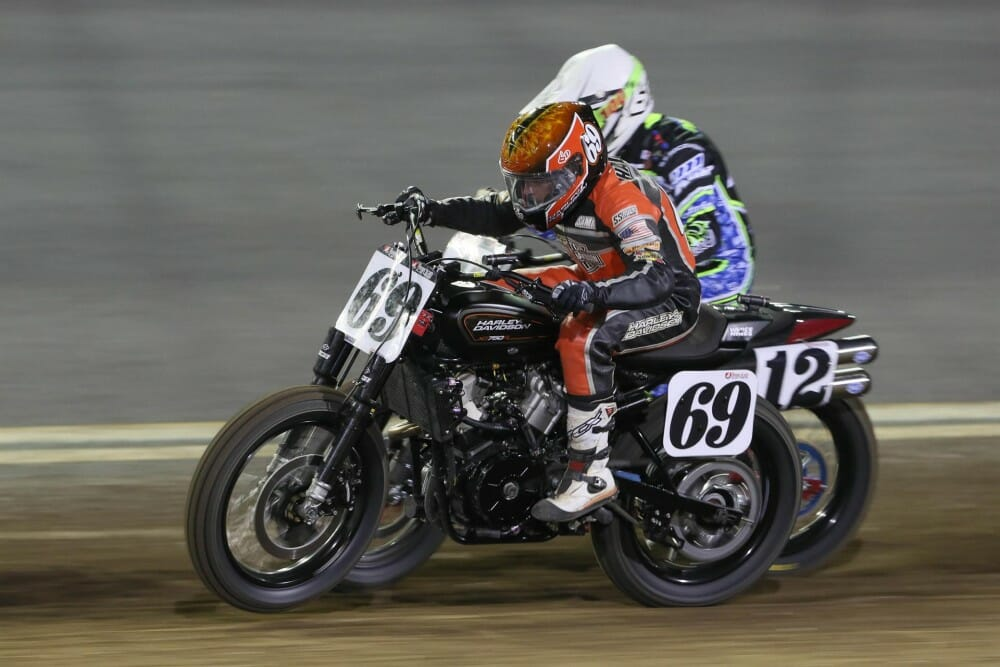 TCX Boots USA Posts American Flat Track Contingency Support