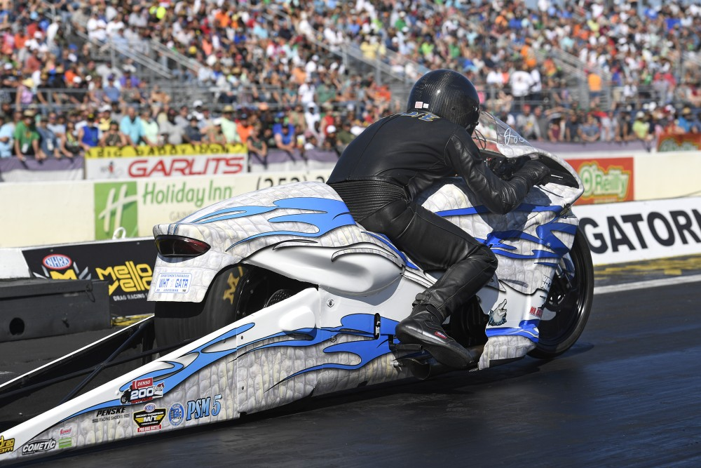 2018 NHRA Pro Stock Charlotte Four-Wide Results