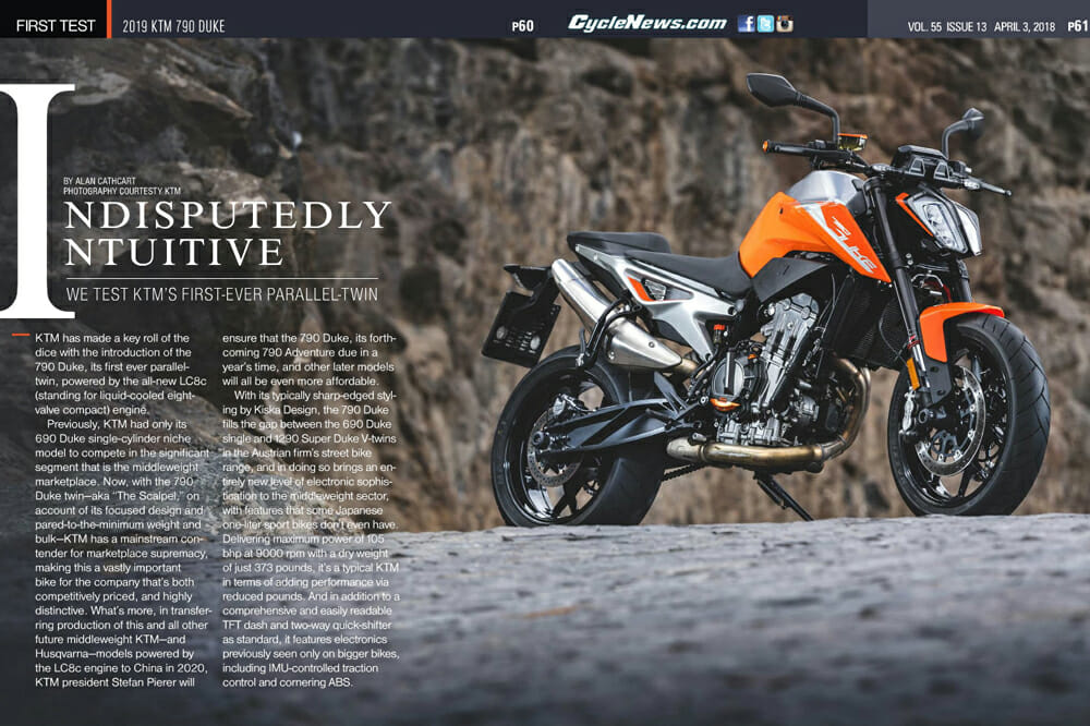 2019 KTM 790 Duke | FULL TEST - Cycle News