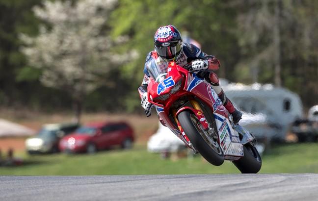 Cameron Petersen Genuine Broaster Chicken / American Honda Team