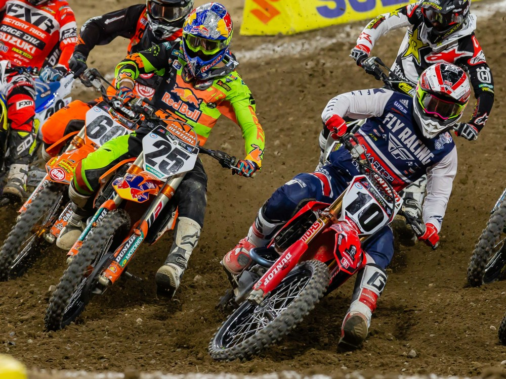 Early Schedule For Foxborough Supercross Cycle News