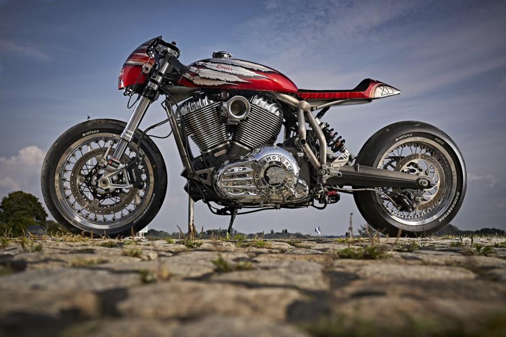 Engina | Indian Motorcycle Café Racer