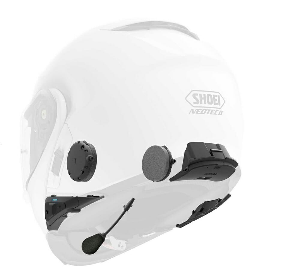 Sena Srl Communication System For Shoei Neotec Ii Helmet