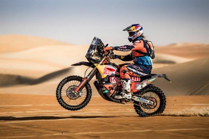 KTM Cross-Country Rallies Race Update