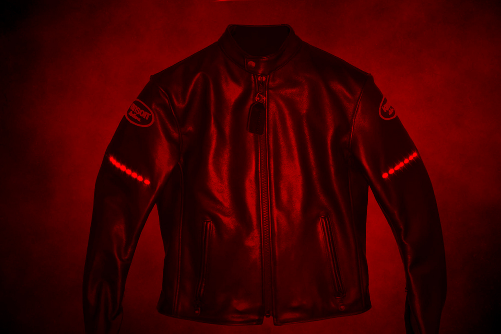 Vanson Leathers Drifter LED Jacket