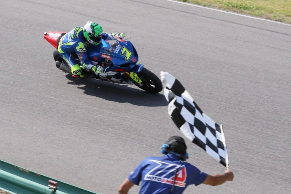 Elias Wins MotoAmerica VIR Race 2 - 2018