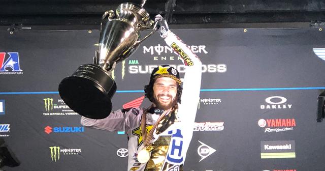Jason Anderson Wins 2018 Monster Energy AMA Supercross 450SX Championship