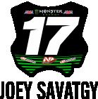 Monster Energy Pro Circuit Kawasaki Joey Savatgy