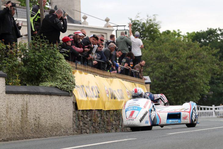 Isle of Man Sidecar TT Race 1