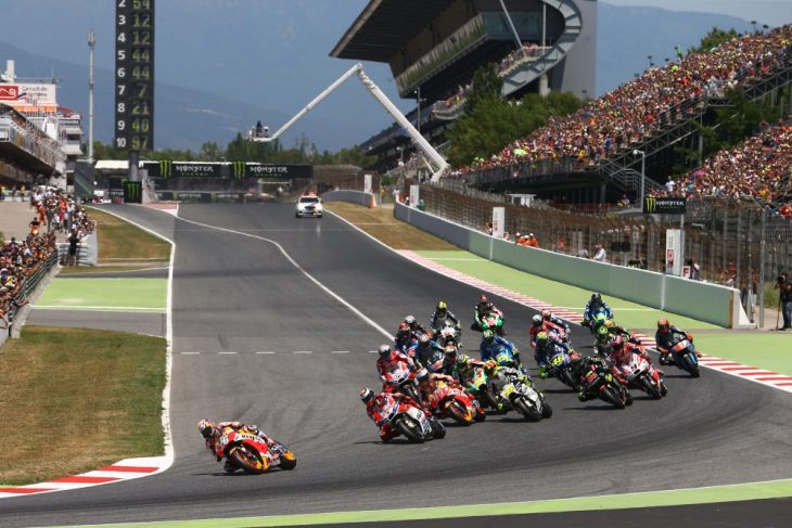 Turn one at Catalunya is slow compared to the straight before it.