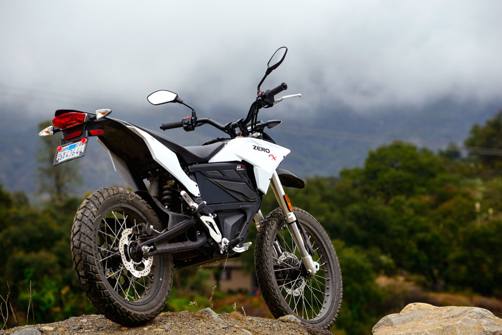 Zero markets this FX as a dual sport. It looks the part. Sort of.