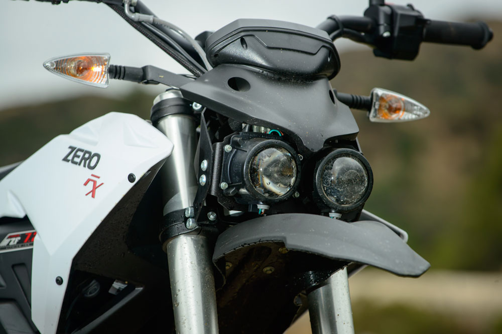 This must be one of the ugliest faces ever seen on a motorcycle.