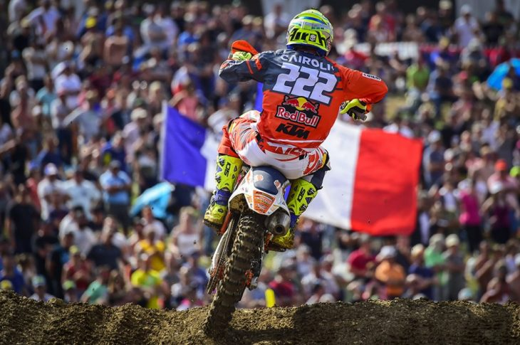 2018 St. Jean d'Angely MX GP Results
