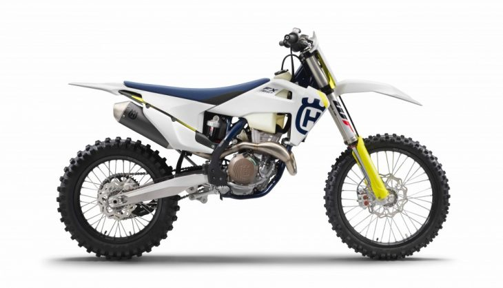 The 2019 Husqvarna FX 350 gets a major overhaul.