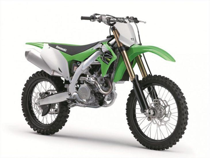 New bodywork makes the 2019 Kawasaki KX450F slimmer.