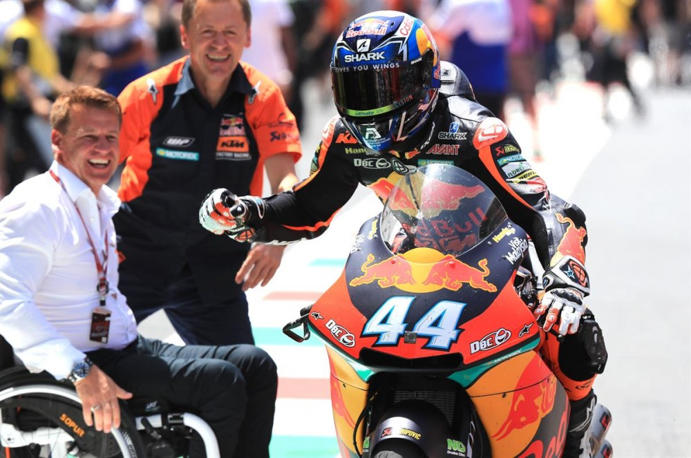 Hafizh Syahrin will join Miguel Oliveira at Tech3 KTM MotoGP Team 2019