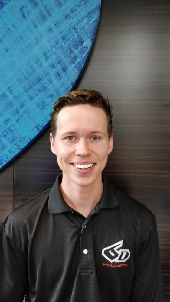 Daniel Luber will join 6D's technical development team in creating new and improved products.