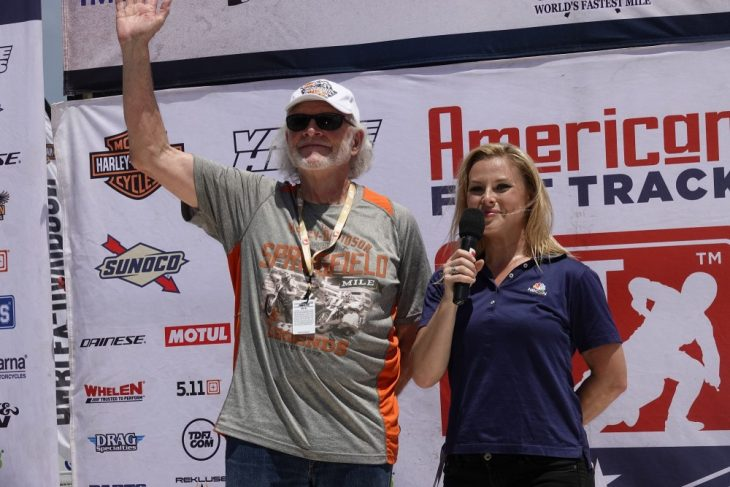Dave Despain at the Springfield Mile 2018