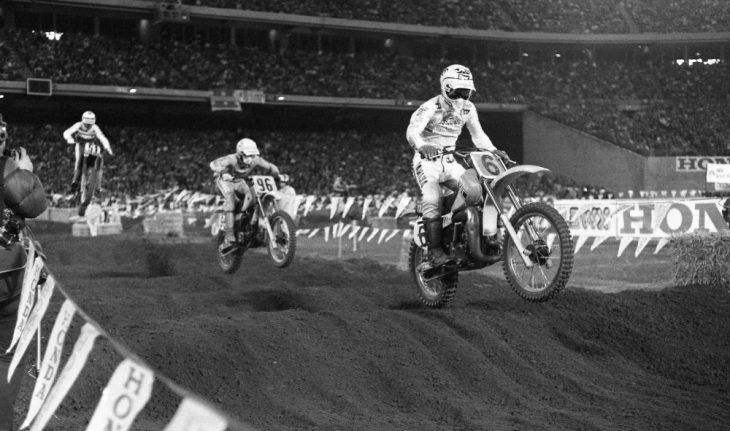 Broc Glover at 1982 San Diego SX