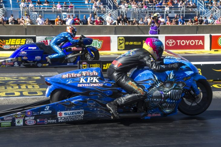2018 Route 66 NHRA Pro Stock Motorcycle Results