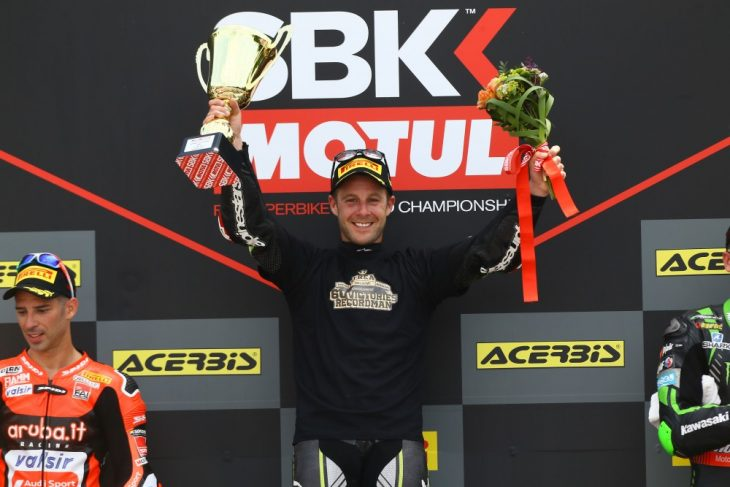 Jonathan Rea with the all-time winner's record in Brno.