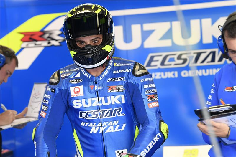 Suzuki and Andrea Iannone Part Ways