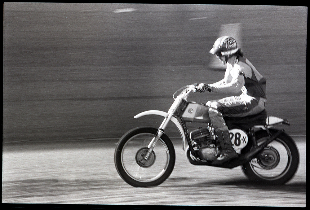 West lived life at full speed. When he died in 1975, he was regarded as one of the best up-and-coming motocross racers in the U.S.