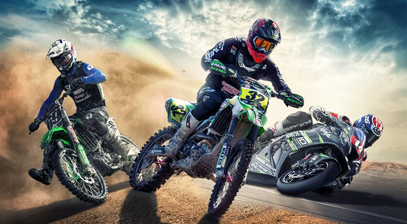 Kawasaki Team Green Racing Contingency Program