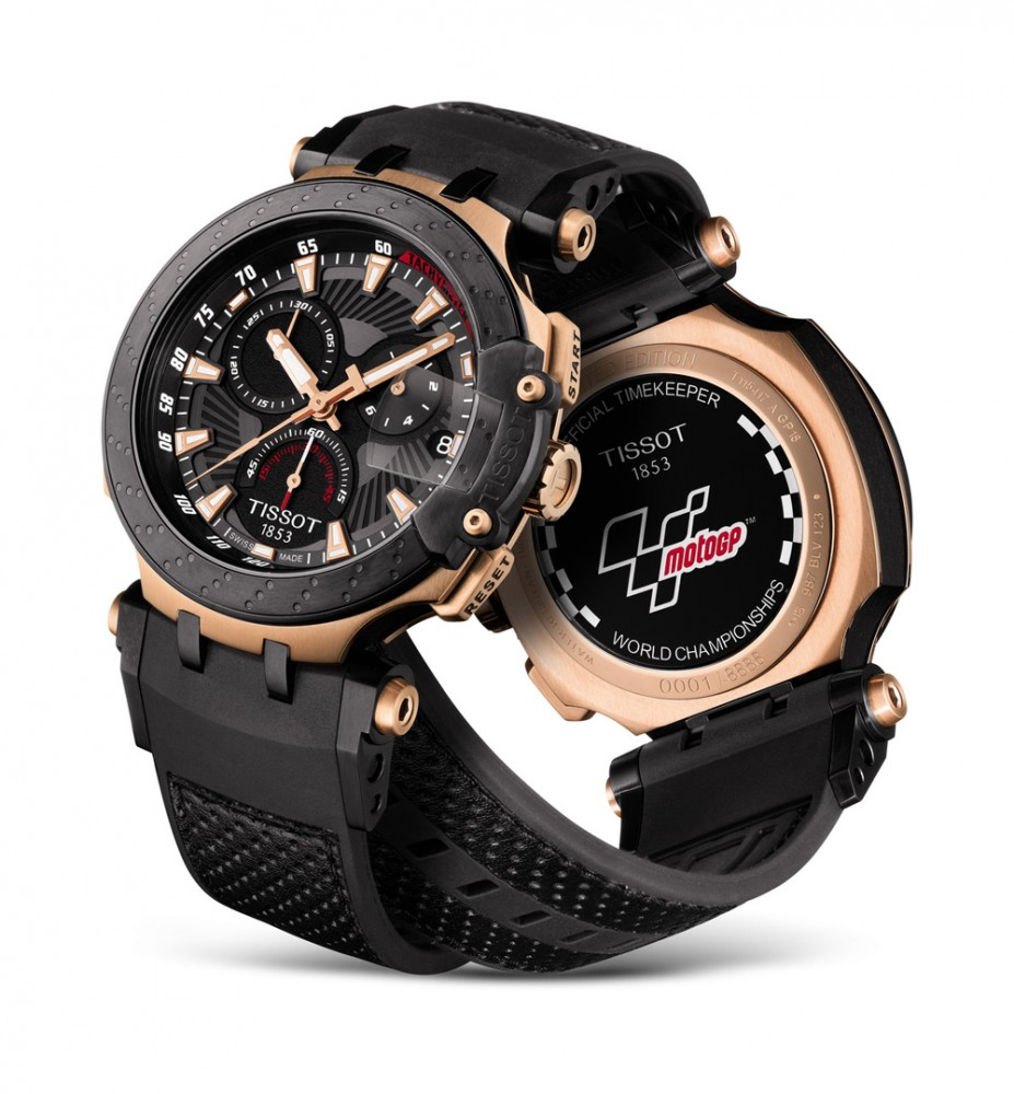 Tissot made its first official MotoGP watch in 2003 and then started the Tissot T-Race collection the following year.