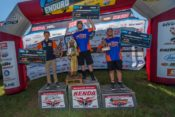Grant Baylor (center) dominated the 2018 Cherokee National Enduro