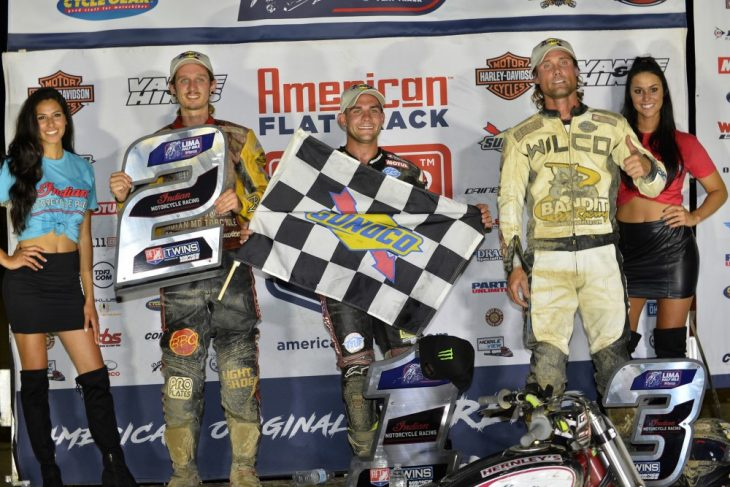 Carver, Mees and Wiles fill the podium at the Lima Half Mile