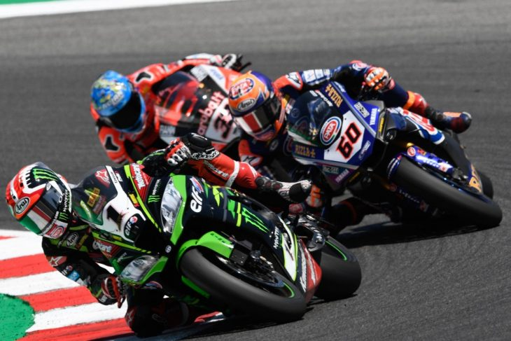 2018 Misano WorldSBK Sunday Results Rea wins race two.