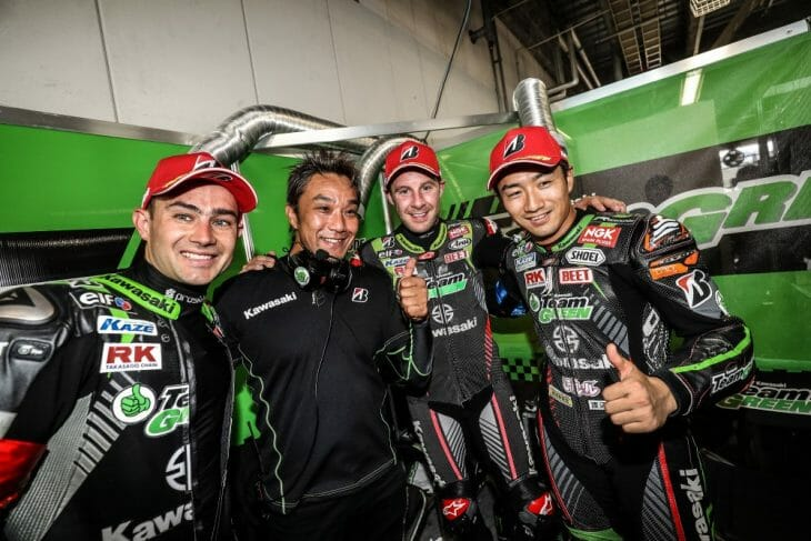2018 Suzuka 8 Hours Top 10 Qualifying Results Team Green