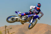 The 2019 Yamaha YZ250F is slightly heavier than before but it's not an issue on the track.