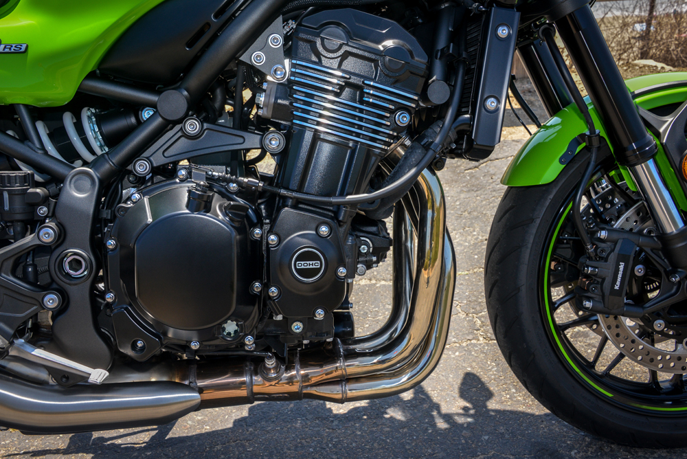 The Z900's inline four has been retuned with more bottom-end torque and it's better for it.