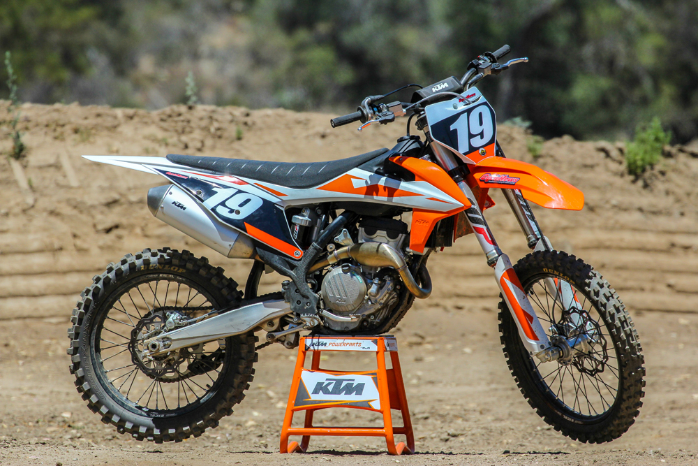 2019 ktm 250 sx f first test cycle news